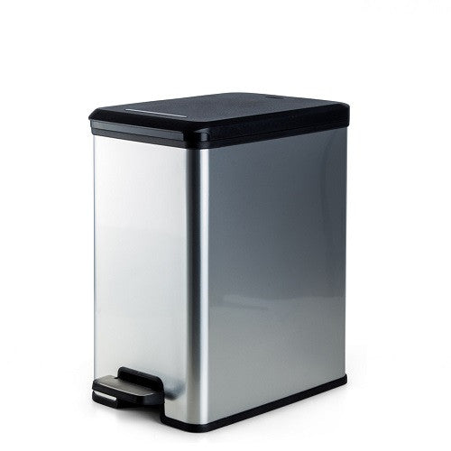 Curevr Slim Bin 25L Metallic