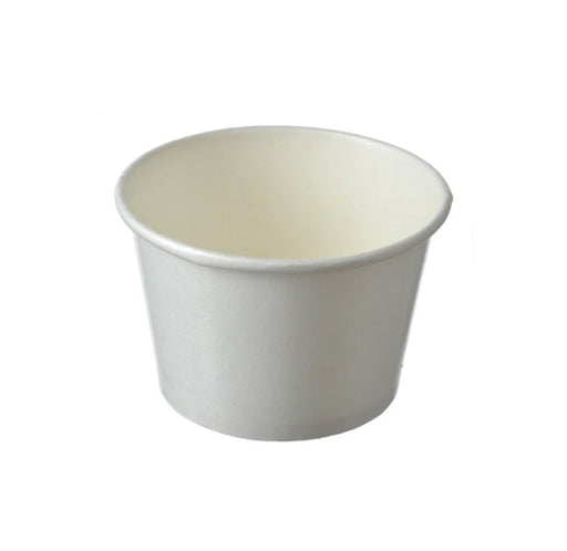 Paper Bowl White 260ml Carton (1, 000 pieces)