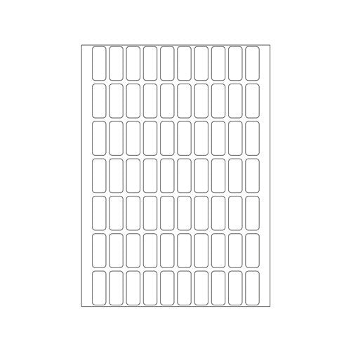Office Pack Multi-purpose Labels 8 x 20mm (2320)