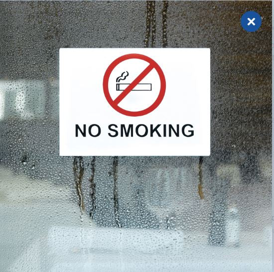 Information labels 'Don´t smoke' weatherproof (5736)