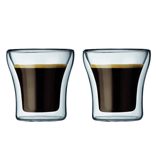 ASSAM Double Wall Glass 1.0L/3oz (Set of 2)