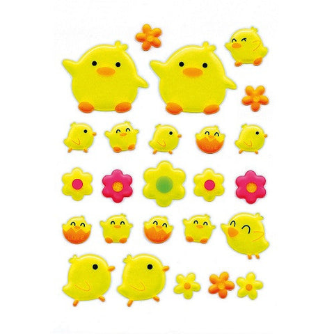Magic Sticker Chicks Puffy