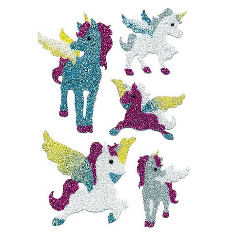 Magic Sticker Unicorn Diamond Glittery