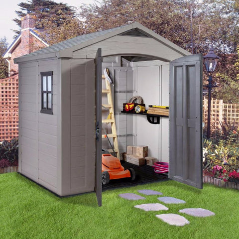 Factor 8x6 Shed - Free Assembly + Delivery