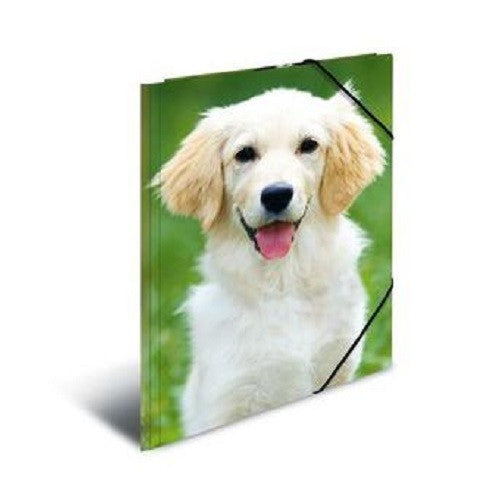 A3 Elasticated Folder Dogs