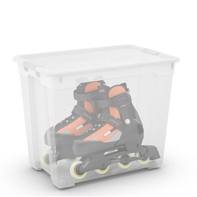 R Box XXL with wheels - 80L