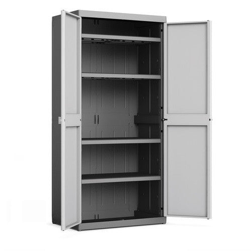 utility cabinet kis logico xl utility plastic indoor cabinet the home shoppe 27891