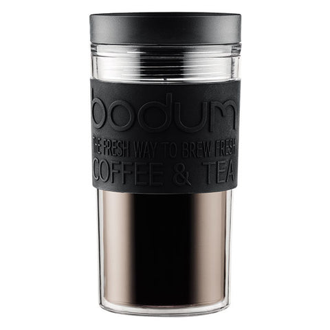 TRAVEL Mug with Silicone Sleeve 0.35L/15oz