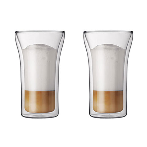 ASSAM Double Wall Glass 0.4L/13.5oz (Set of 2)
