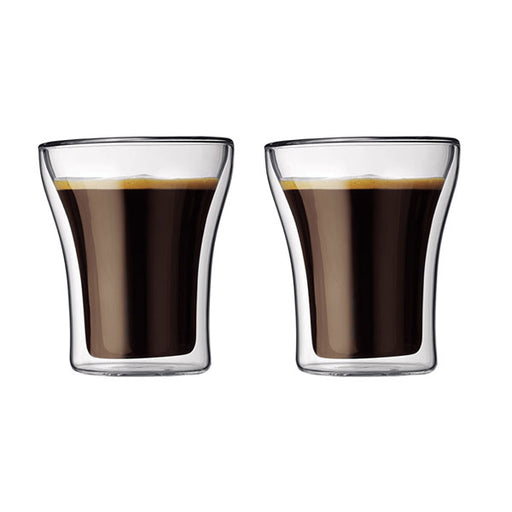 ASSAM Double Wall Glass 0.2L/6oz (Set of 2)