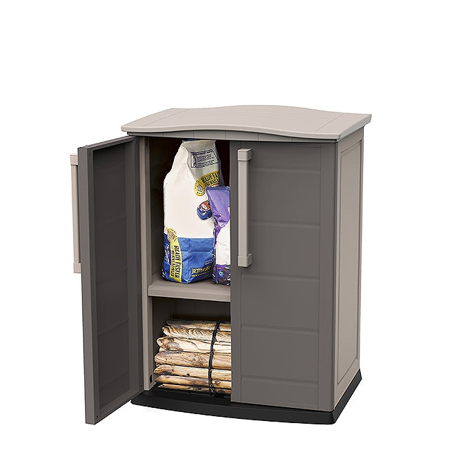 Keter Boston Outdoor Base Cabinet Waterproof Plastic The