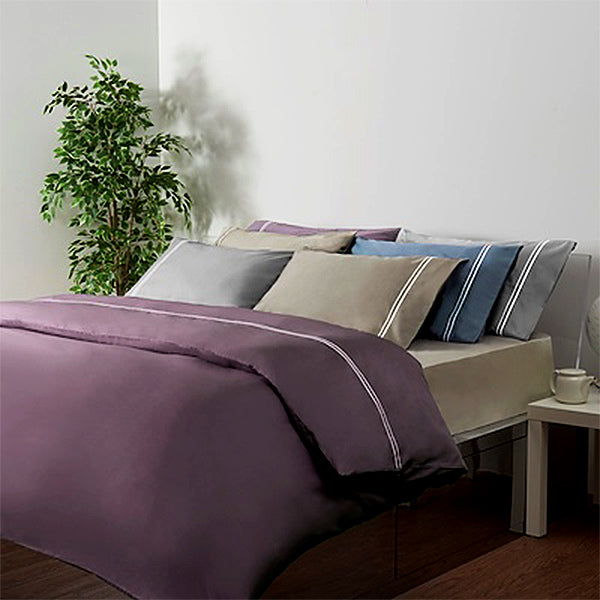 Canopy Luxe Elegant 100% Cotton Sateen 5pcs King Set