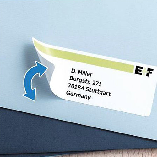 Removable Labels A4, Ø 40 mm, White (4476)