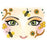 Face Art Sticker Honey Bee (15304)