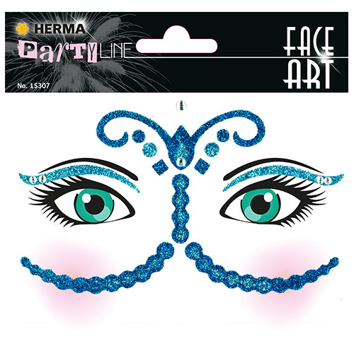 Face Art Stickers Bollywood (15307)