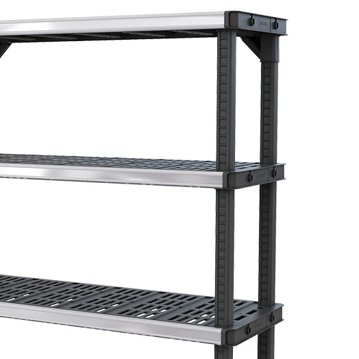 "Fused Open 48"" Shelf 4 Tier"