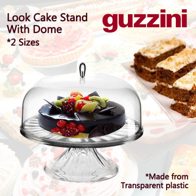 Look Cake Stand With Dome 27 Cm