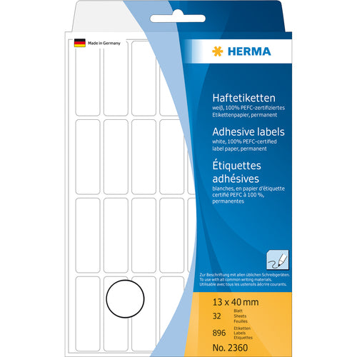 Office Pack Multi-purpose Labels 13x 40mm (2360)