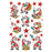 Decor Sticker Santa Claus & Friends