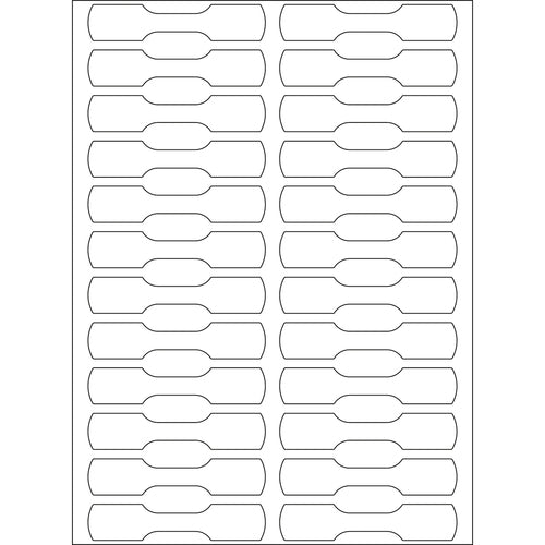 Office Pack Multi-purpose Labels 10 x 49mm (2510)