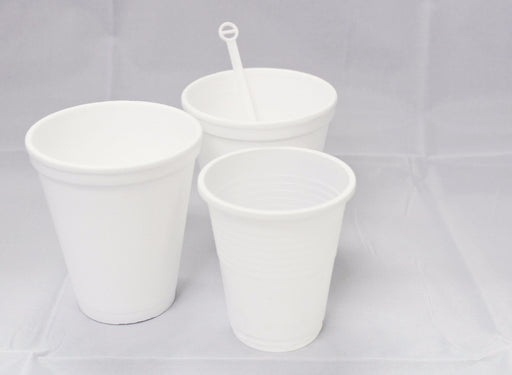 Foam Cup White 8 Oz Carton (1, 000 pieces)
