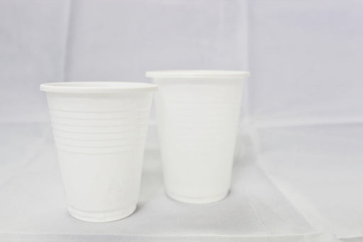 Plastic White Cups 6.5 Oz Carton (1, 000 pieces)