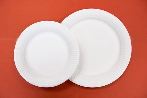"8"" White Paper Plate Carton (1, 000 pieces)"
