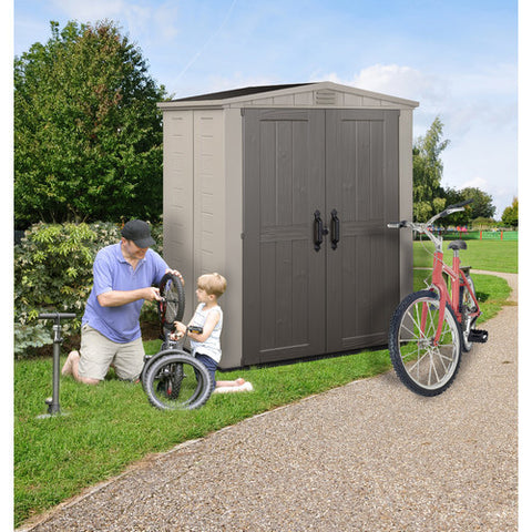 Factor 6X3 Outdoor Shed