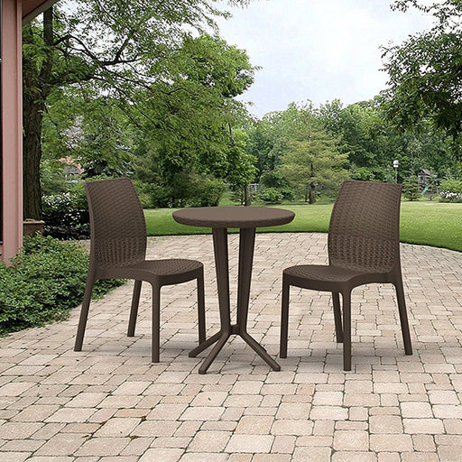 Bistro Set Brown