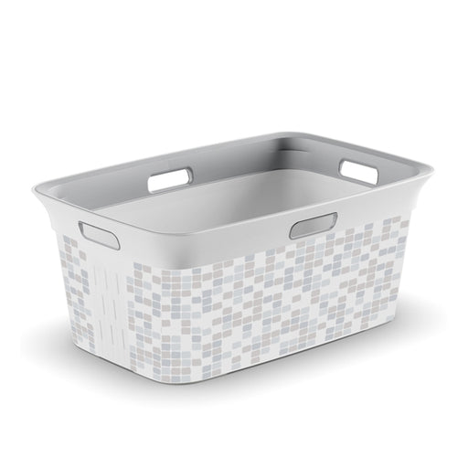 Chic Laundry Basket Mosaic 45L
