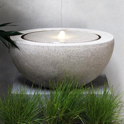Loa 57 Granite Grey Water Fountain