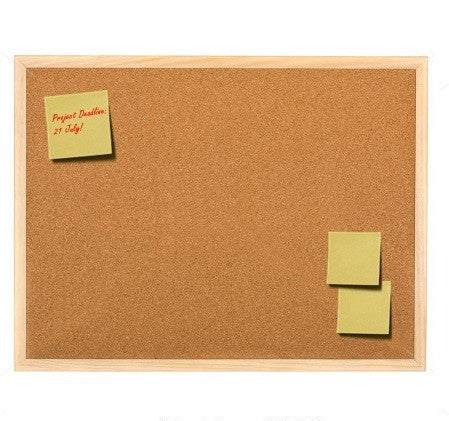 Cork Memo Board 400x600mm