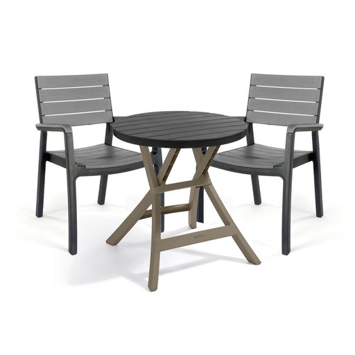 Oregon Outdoor Dining Set Graphite