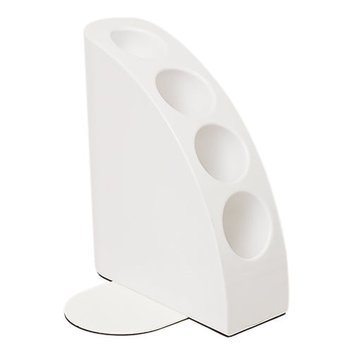 Book And Pen Stand White