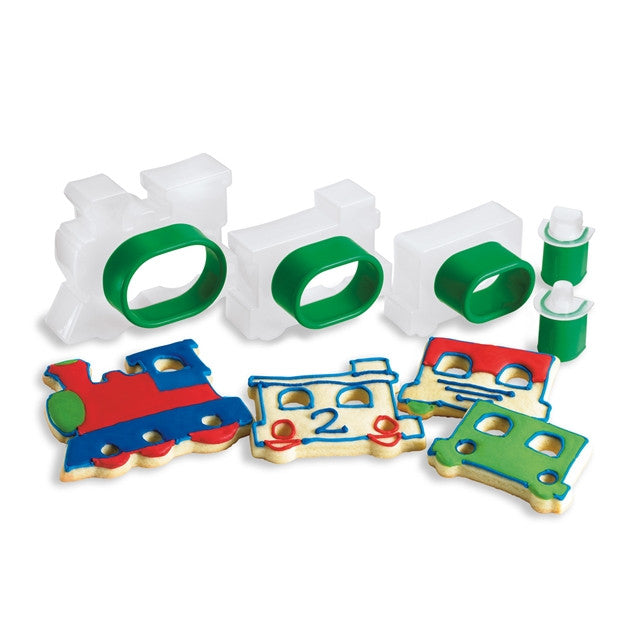 "Cookie Cutter 5Pc Set ""TRAIN"""