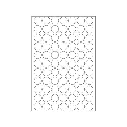 Office Pack Multi-purpose Label Round 13mm (2230)