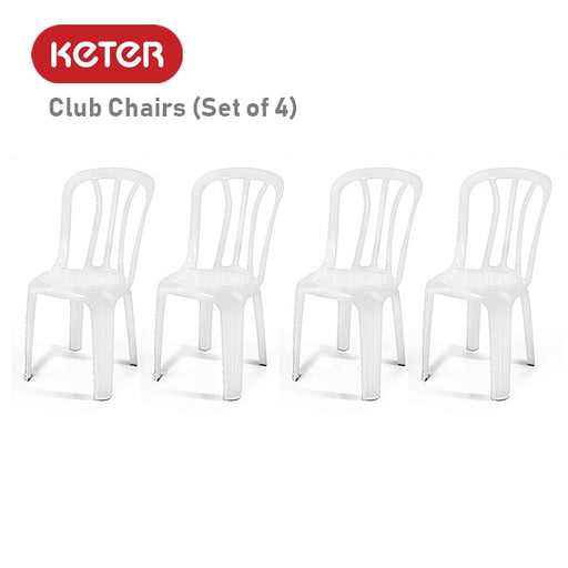 Club Chairs (Set of 4)