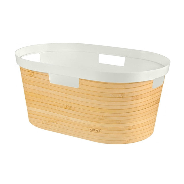 Infinity Laundry Basket 40L Designs Bamboo Design