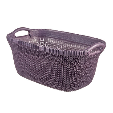 Knit Laundry Basket 40L