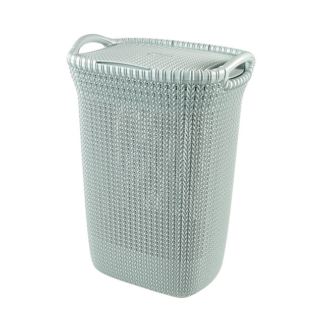 Curver Knit Laundry Hamper 57l With Lid The Home Shoppe