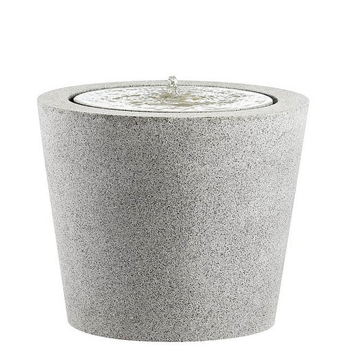 Doro 57 Granite Grey Round Water Fountain