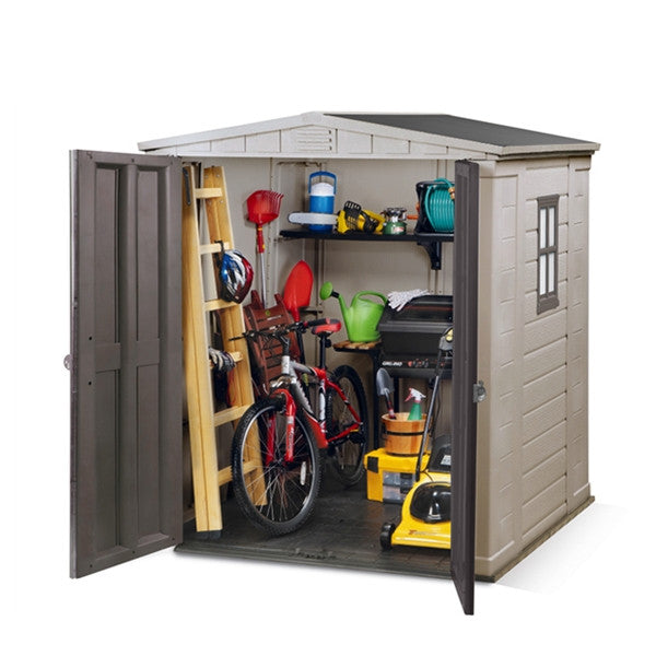Keter Factor 6 X 6 Outdoor Garden Shed Free Assembly