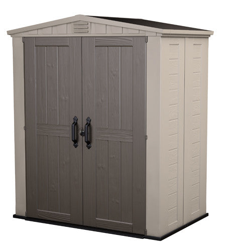 Factor 6 X 3 Outdoor Shed with FREE Toolbox