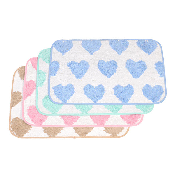 Canopy Essential 100% Cotton Bathmat- 4pcs (HB - 926)