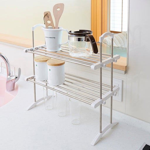 2 Tier Kitchen Storage Rack TOS-10 S/S