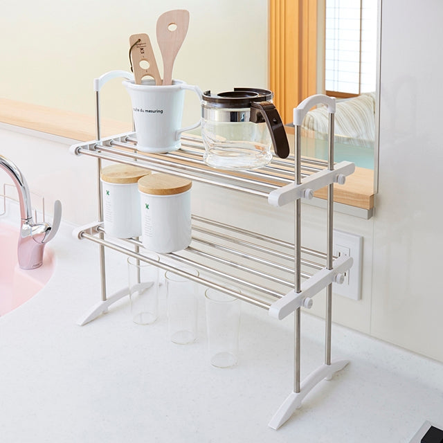 2 Tier Kitchen Storage Rack Tos 10 S S