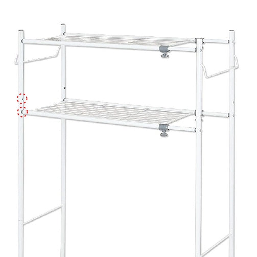 Adjustable Laundry Tower Washing Machine Rack TLR-1