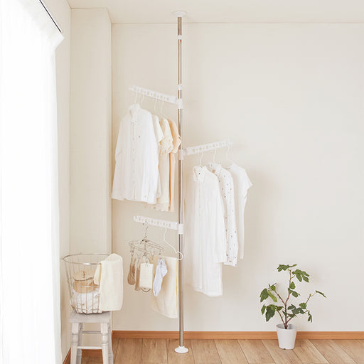 Laundry Hanger Standing Pole Clothes Rack S/S TMH-3