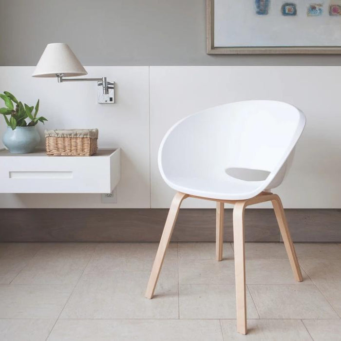Elena Wood Base Chair