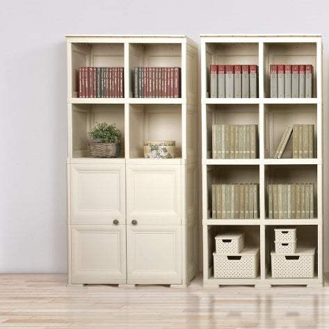 4 Tier Bookcase with 2 Doors